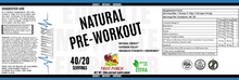Load image into Gallery viewer, Natural Pre-Workout