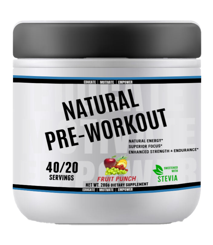 Natural Pre-Workout