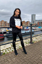 Black COCO Paris Sweatshirt