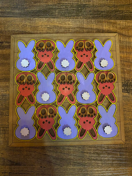 "Cute Bunny Easter Large Fridge Magnet 4.5"" x 4.5"""