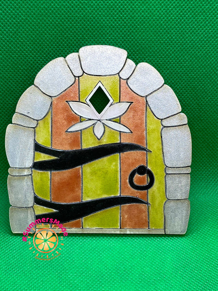 V2 - 6 Wooden Fairy Doors Volume Two - 6 Fairy Doors to decorate