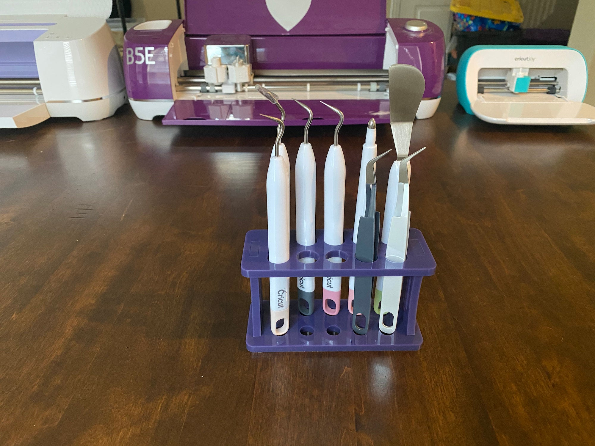 Cricut Tools Holder - Purple