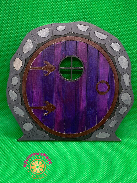 V1 - 6 Wooden Fairy Doors Volume One - 6 Fairy Doors to decorate