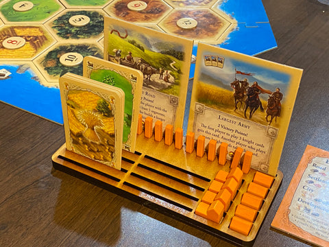 Game Piece Holder for Settlers Of Catan Board Game