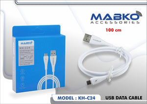 MABKO KH-C24 USB Data Cable (100cm)