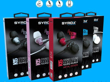 Load image into Gallery viewer, SYROX K15 Stereo Earphones