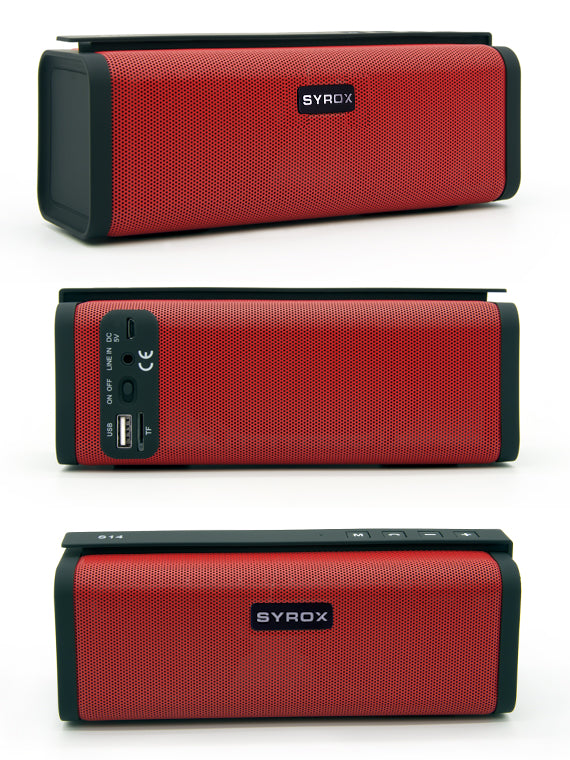 SYROX Bluetooth & Multimedia Dual Speakers