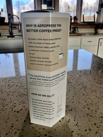 Aeropress instructions