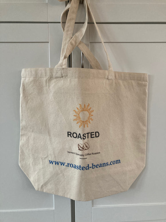 Roasted Logo Canvas Bag