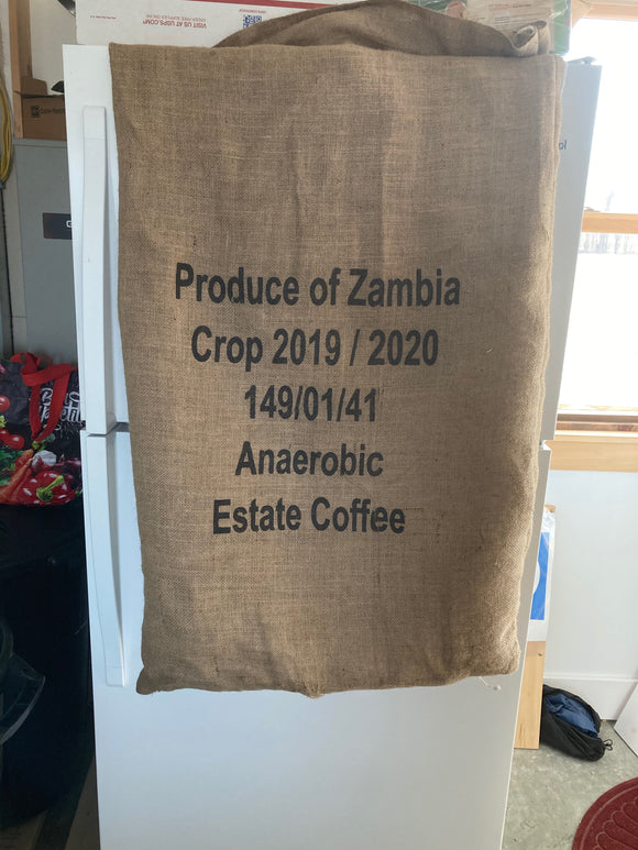 Zambia Anaerobic Fermented Natural Processed
