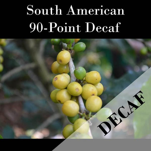 South American Blend Green Beans-Decaf