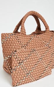 ST. BARTHS MINI TOTE BROWN SUGAR