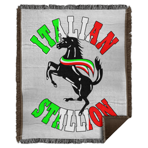 Italian Stallion Woven Blanket - 50x60 - Guidogear