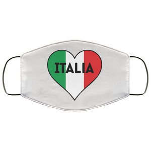 Italian Heart Face Mask - Guidogear