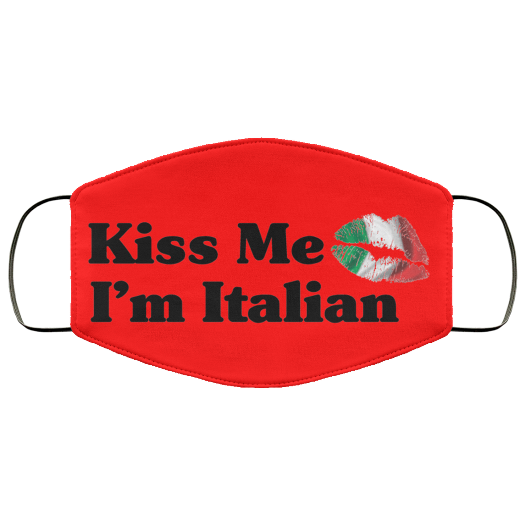 Kiss Me I'm Italian Face Mask - Guidogear