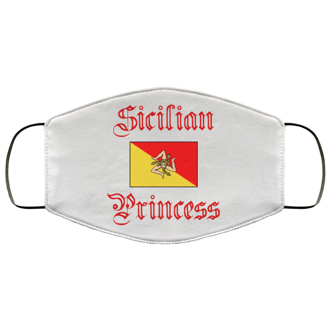 Sicilian Princess Italian Face Mask - Guidogear