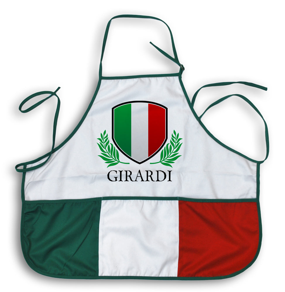 Custom Name Italian Apron - Guidogear