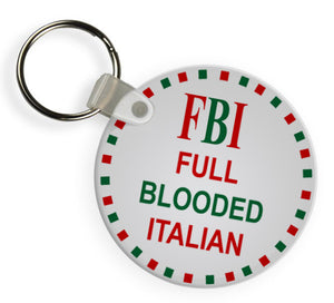 FBI Full Blooded Italian Keychains - Guidogear