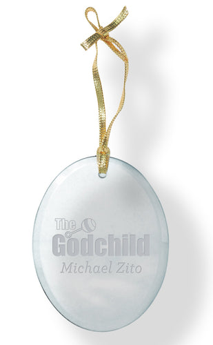 Godchild Glass Ornament - Guidogear