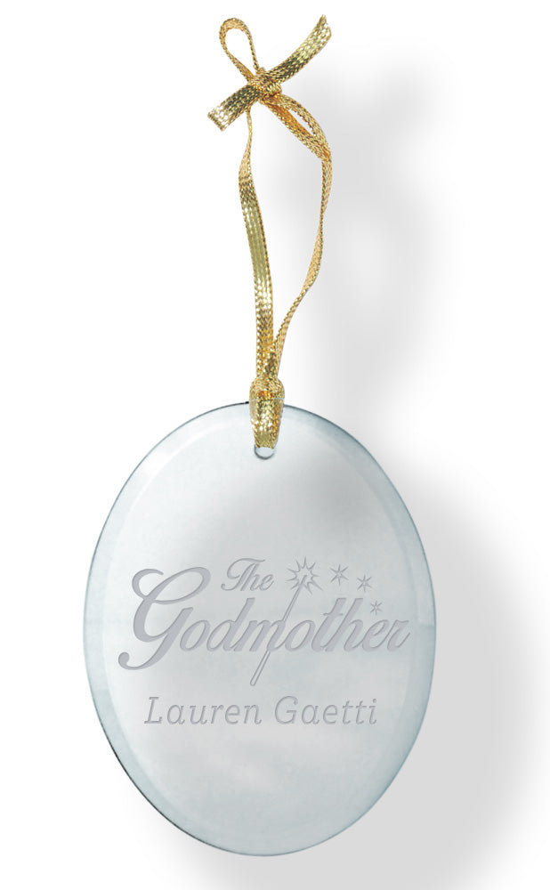 Godparent Glass Ornament - Guidogear