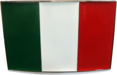ITALY FLAG BELT BUCKLE - Guidogear