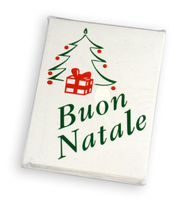 Buon Natale Holiday Christmas Cards - Guidogear