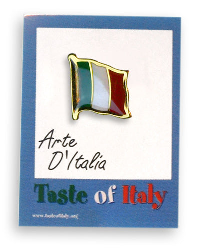 Italian Flag Lapel Pin - Guidogear