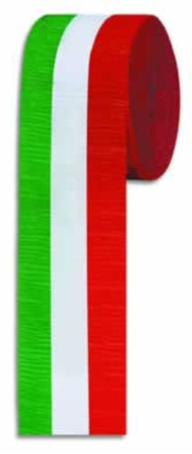 FR Red, White & Green Crepe Streamer 2 - Guidogear
