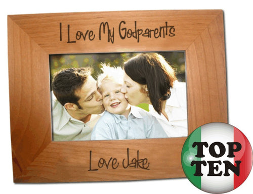 Godparents Picture Frame - Guidogear