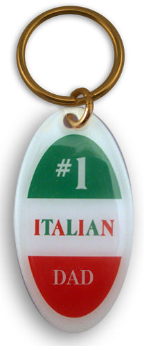 #1 Italian Dad Keychain - Guidogear
