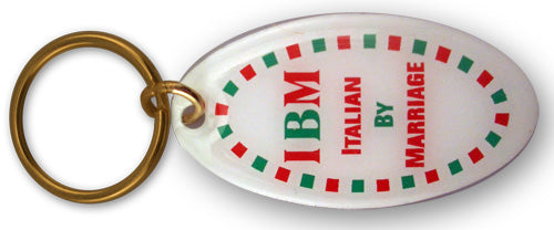 IBM Italian By Marriage Keychain - Guidogear