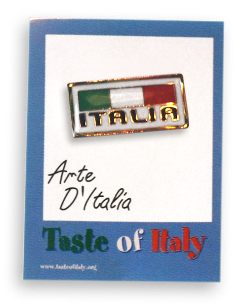Italian Italia Lapel Pin - Guidogear