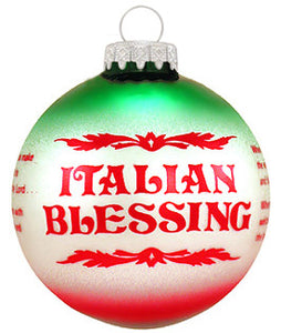Italian Blessing Ornament - Guidogear