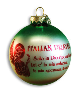 Italian Prayer Ornament - Guidogear
