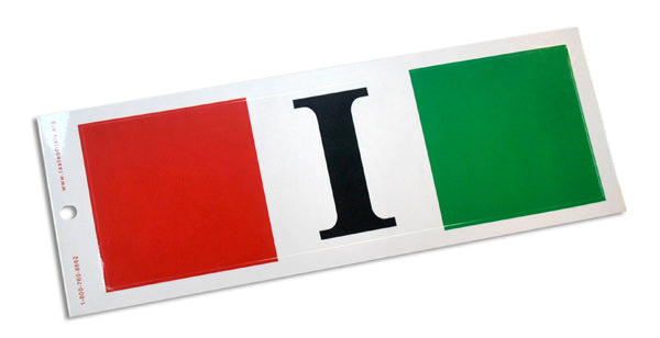 Italian Flag I Bumper Sticker - Guidogear