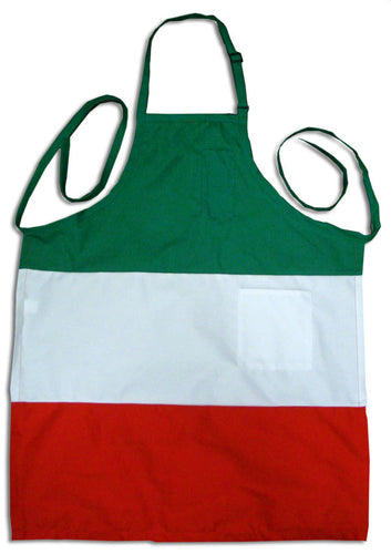 Havyweight Italian Flag Deli Apron - Guidogear