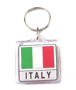 Italy Lucite Keyring - Guidogear
