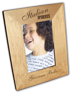 Italian Princess Picture Frame - Guidogear