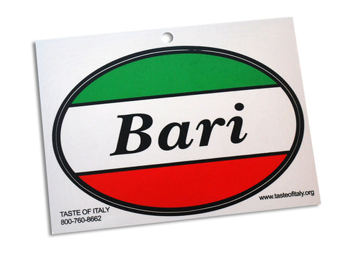 Bari Oval Decal - Guidogear