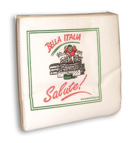 Bella Italia - Salute! Cocktail Napkins - Guidogear