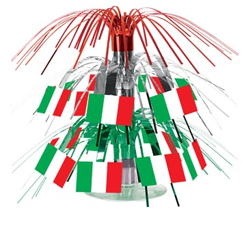 Mini Italian Flag Cascade Centerpiece 7 - Guidogear