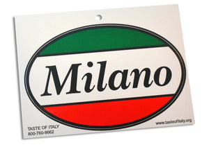 Milano Oval Decal Sticker - Guidogear