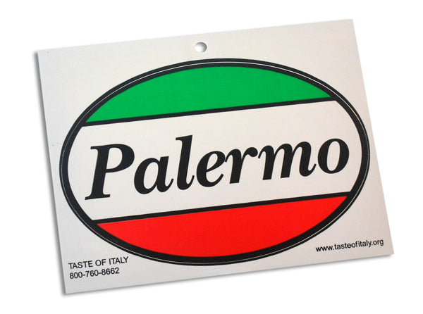 Palermo Oval Decal Sticker - Guidogear