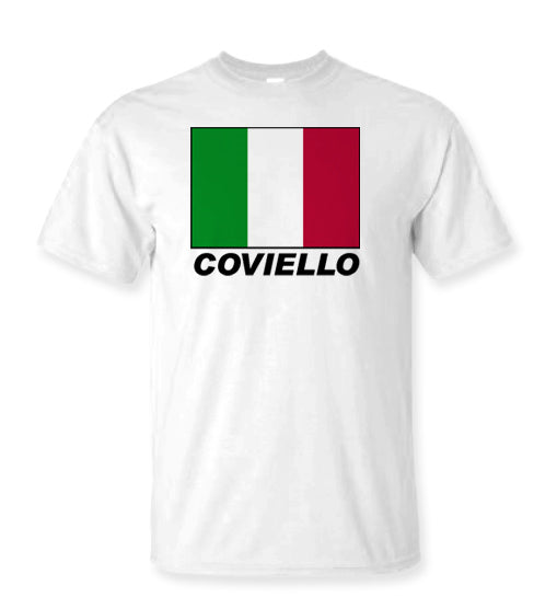 SALE - Personalized Italian Flag Shirts - Guidogear
