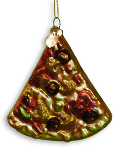 Pizza Christmas Holiday Ornament - Guidogear
