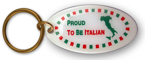 Proud To be Italian Keychains - Guidogear