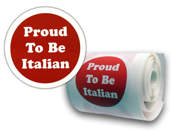 Proud To Be Italian Stickers (10) - Guidogear