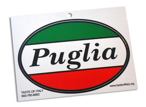 Puglia Oval Decal Sticker - Guidogear
