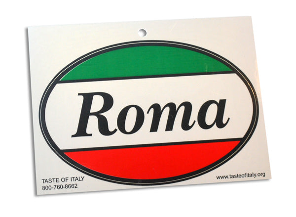 Roma Oval Decal Sticker - Guidogear