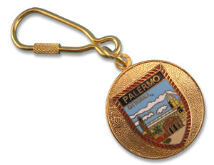 Brass Palermo Key Chain - Guidogear